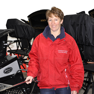 Sue Mart qualifies as UKCC Level 3 Coach in Driving