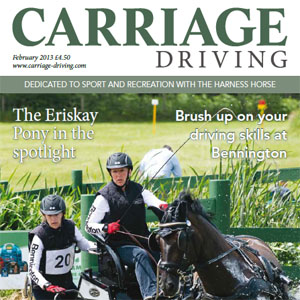 Carriage Driving Magazine - February 2013