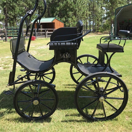 Bennington pony presentation carriage for single and pair (Ref.505)