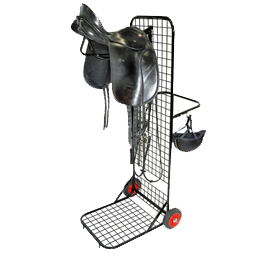 Tack Trolley to keep your stable yard tidy and to take to riding events